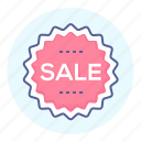 badge, discount, label, sale, sign, tag icon