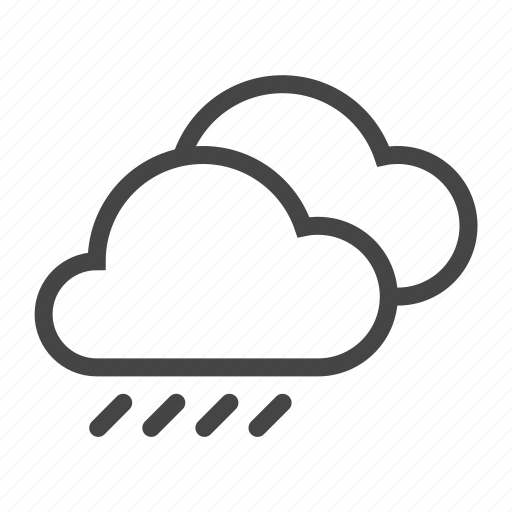 cloud, clouds, forecast, meteo, rain, storm, weather icon