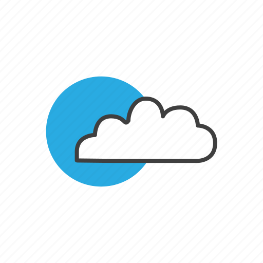 cloud, cloudy, forecast, meteorology, sky, sunny, temperature, thermometer, weather, wind icon