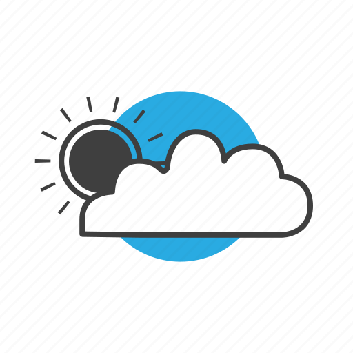 climate, cloud, clouds, cloudy, day, forecast, meteorology, sky, summer, sun, sunny, sunshine, temperature, thermometer, weather icon