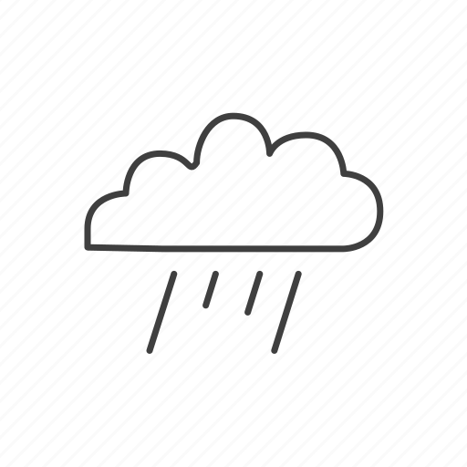 cloud, clouds, cloudy, day, forecast, meteorology, rain, rainy, weather icon
