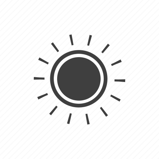 forecast, meteorology, nature, summer, sun, sunshine, weather icon