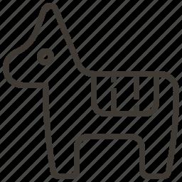 animal, burro, donkey, pet icon