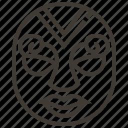 mask, mexico icon