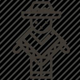 avatar, clothing, latin america, poncho icon