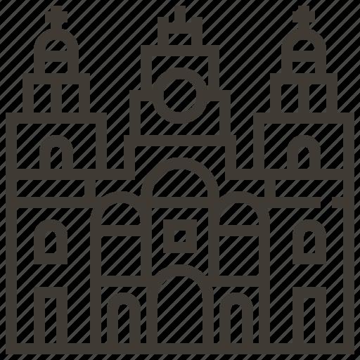 building, church, mexico icon