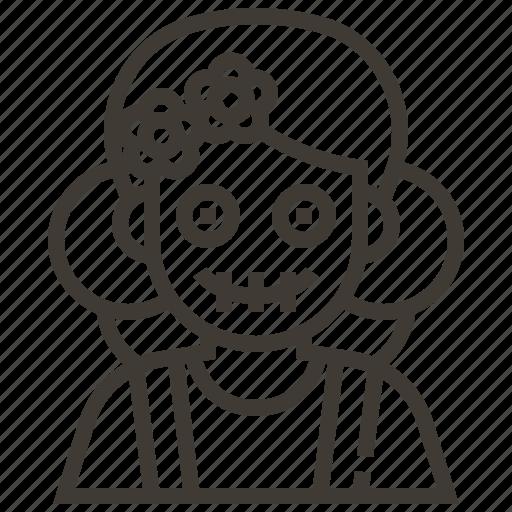 avatar, dia de los muertos, girl, mexico, woman icon