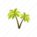 beach, miami, palm, summer, travel, tropical, vacation icon