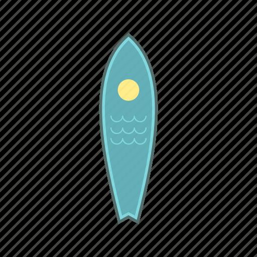 beach, board, sport, surf, surfboard, surfing, wave icon