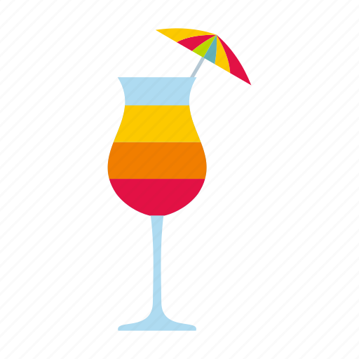 alcohol, cocktail, coctail, drink, glass, juice, umbrella icon