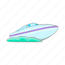 boat, cartoon, sea, ship, sign, speed, yacht