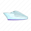 cartoon, cruise, nautical, sea, ship, sign, yacht icon
