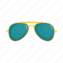 cartoon, design, eyeglasses, fashion, glasses, retro, sign icon