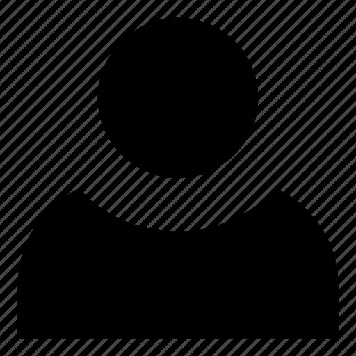 account, avatar, client, micro, person, profile, user icon