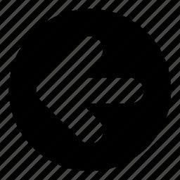 arrow, arrows, back, direction, left, micro, move icon