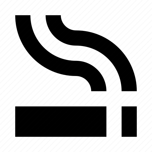 area, cigarette, room, smoke, smoking icon