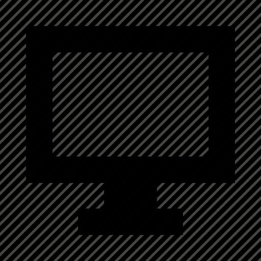 computer, desktop, display, monitor, pc, screen, television icon