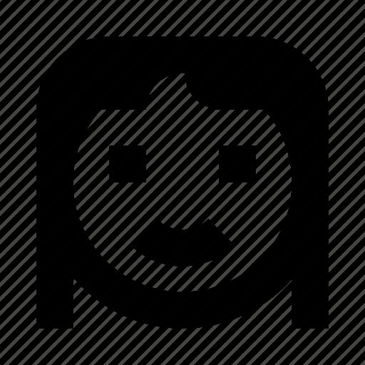 avatar, face, female, girl, smile, woman, women icon