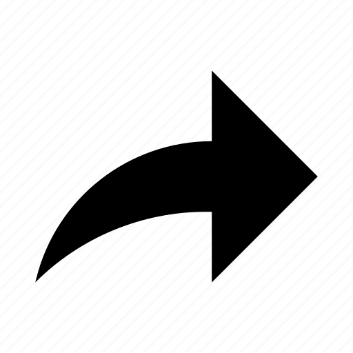 arrow, link, media, share, sharing, social icon
