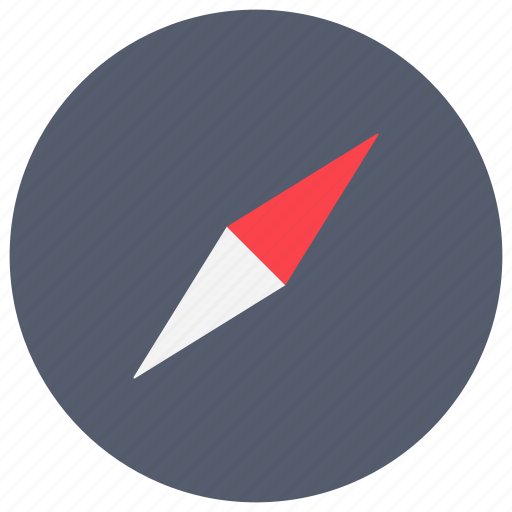 app, compass, directions, mobile, navigation, orientation icon