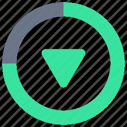 app, backup, downloads, mobile, transfer, ui, user interface icon