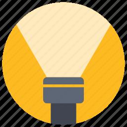 app, flashlight, lantern, light, mobile, ui, user interface icon