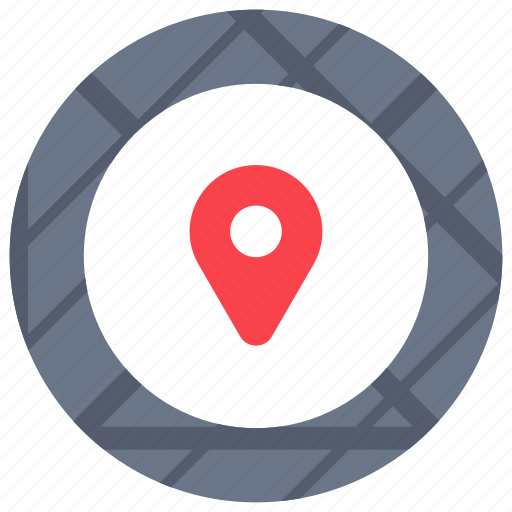 gps, locations, maps, marker, places, routes, streets icon