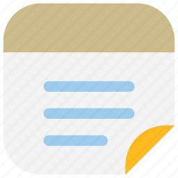 list, memo, mobile, notepad, notes, tasks, ui icon