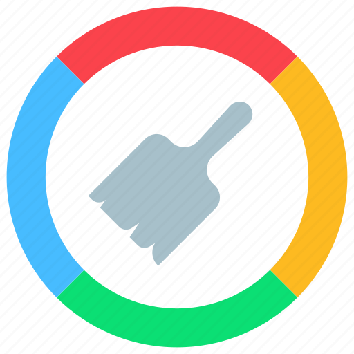 app, brush, coloring, colors, customize, paint, themes icon