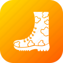 foot, force, military, protection, shoe, war icon