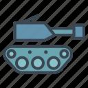 military, tank icon
