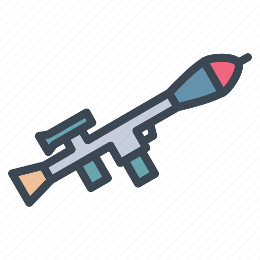 army, launcher, military, rocket, rpg, weapon icon