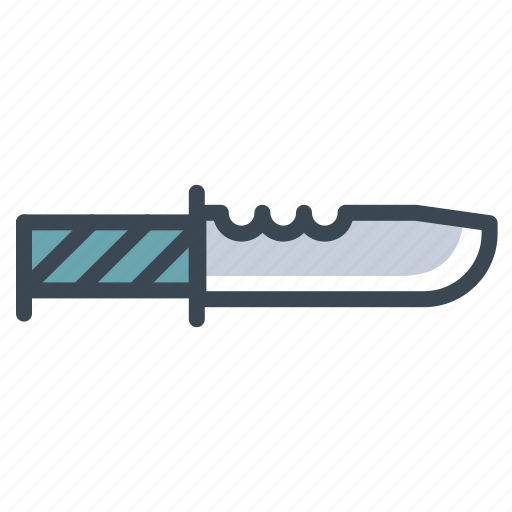 army, knife, military, soldier icon