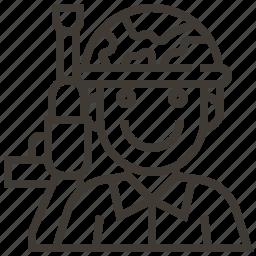 avatar, military, soldier, war icon