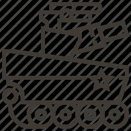 military, tank, vehicle, war icon