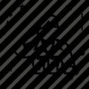 army, barracks, draft, military, row, troops icon