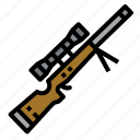 gun, pistol, rifle, sniper, war