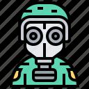 biohazard, gas, mask, protection, toxic