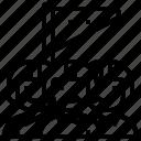 flag, mission, patrol, task, trooper icon