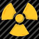 atomic, hazard, nuclear, radiation icon