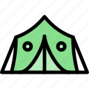 army, military, soldier, tent, war icon