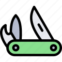 army, knife, military, pocket, soldier, war icon