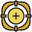 focus, location, search, target, user, victim icon