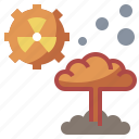 bomb, dangerous, explosion, explosive, miscellaneous, nuclear, radioactivity icon