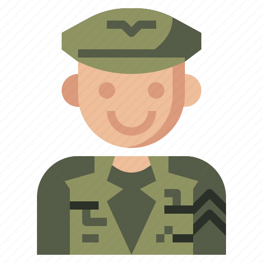 army, job, jobs, man, military, occupation, professions, soldier, user icon
