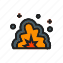 army, bomb, explosive, gun, military, war, weapon icon