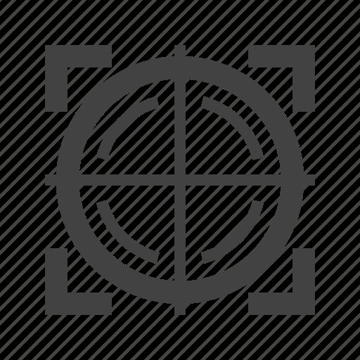 cross, dart, dot, gun, hunting, sight, target icon