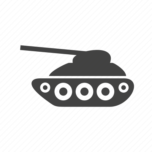 Army, gun, military, tank, transport, war, weapon icon - Download on Iconfinder