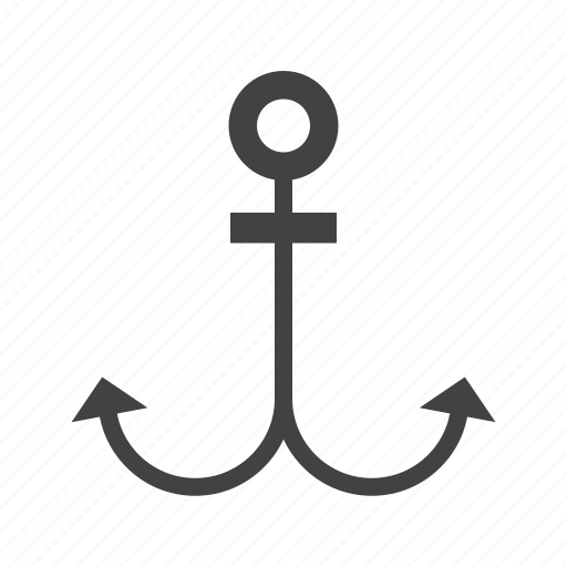 anchor, antique, marine, nautical, old, sea, ship icon
