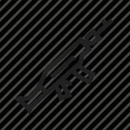 gun, guns, handgun, military, pistol, shot, weapon icon